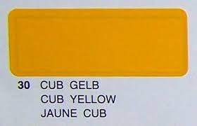 Covering PROFILM Cub Yellow 2Mtr