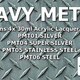 Paint SMS HEAVY METALS Colour Set