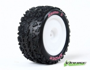 Wheels Louise World E-Spider 1/10 Buggy Rear Hex Soft