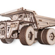 Static Models EWA-BELAZ Wooden Model Truck with rubber band engine, opening body and doors, visual piston system