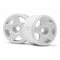 Wheels HPI Fifteen2 Tarmac Wheels 17mm White (4Pcs)