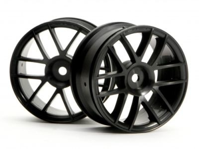 Wheels HPI Split 6 Wheel 26mm (Black) 1/10