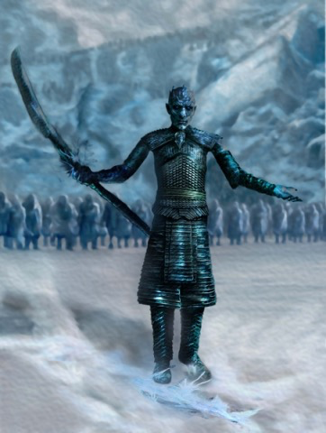Plastic Kits ICM (d) 1:16 Scale Night King