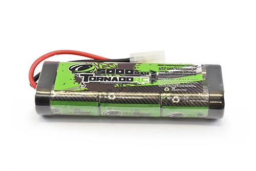 Battery NiMh TORNADO RC 5000Mah 7.2V Nimh Stickpack Tamiya Connector