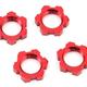 Parts Traxxas X-Maxx 17mm Splined Wheel Nut (Red) (4)