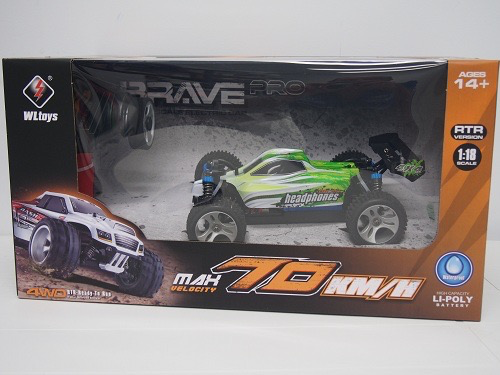 Cars Elect RTR WLTOYS High Speed 1/18 Buggy (70 km/h) lipo Battery & Charger included