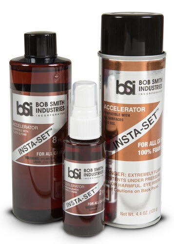 Glue CA Bob Smith Insta-Set CA Accelerator 8Oz
