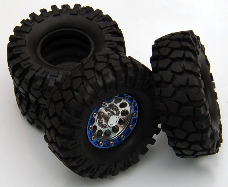 Wheels RC4WD 2x Rock Crusher X/T 1.9 Tires