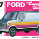 Plastic Kits AMT (e) 1/25 Scale - 1977 Ford Cruising Van 2T