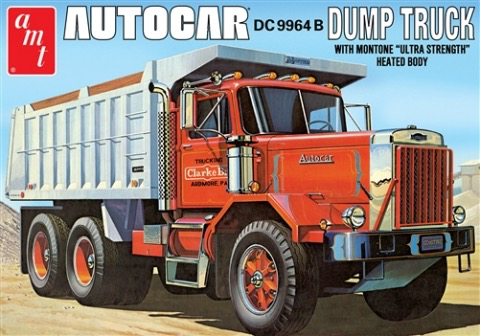 Plastic Kits AMT (e) 1/25 Scale - Autocar Dump Truck