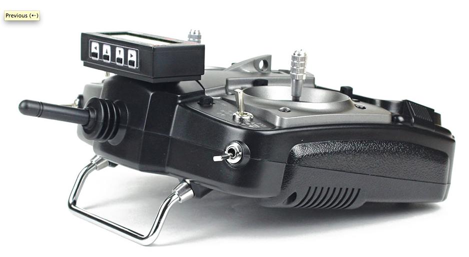 Radio 2.4 Jeti Model Duplex DS12 Multimode Transmitter, Red