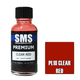 Paint SMS Premium Acrylic Lacquer CLEAR RED 30ml