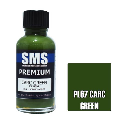 Paint SMS Premium Acrylic Lacquer CARC GREEN FS34094 30ml