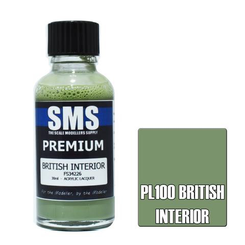 Paint SMS Premium Acrylic Lacquer BRITISH INTERIOR FS34226 30ml