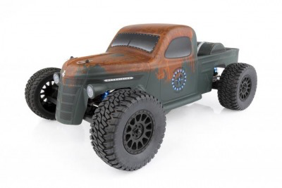 Cars Elect RTR Team Associated Trophy Rat 1/10 2wd Brushless Truck RTR