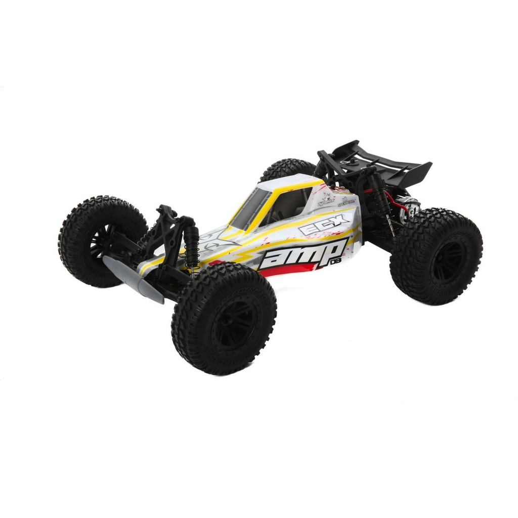 Cars Elect RTR Electrix Amp 1/10 2wd Desert Buggy RTR - White / Yellow incl Battery & Charger