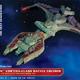 Plastic Kits AMT (f)  1/1400 Scale -  Star Trek Kllingon Vor'cha Plastic Model Kit