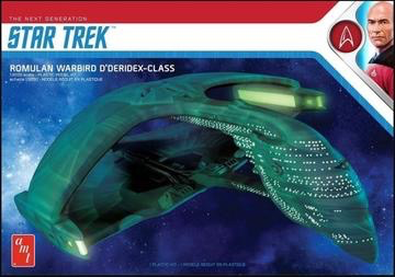 Plastic Kits AMT (f) 1/3200 Scale -  Star Trek Romulan Warbird 2T Plastic Model Kit