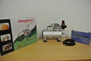 Tools HS Air Compressor Kit Incl. Hose & HS-30 Air Brush (without tank)