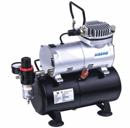General HS Air Compressor W/Fan & Tank. Airbrush use