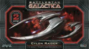 Plastic Kits MOEBIUS (f) 1/72 Scale - Battlestar Galactica Cylon Raider (2 Pack) Plastic Model Kit