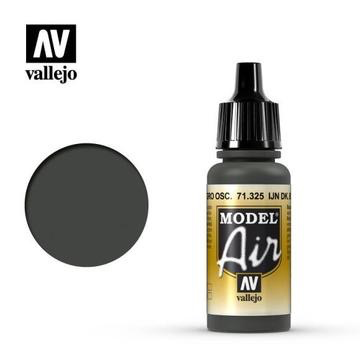 Plastic Kits VALLEJO Model Air IJN Dark Black Green 17 ML Acrylic Airbrush Paint