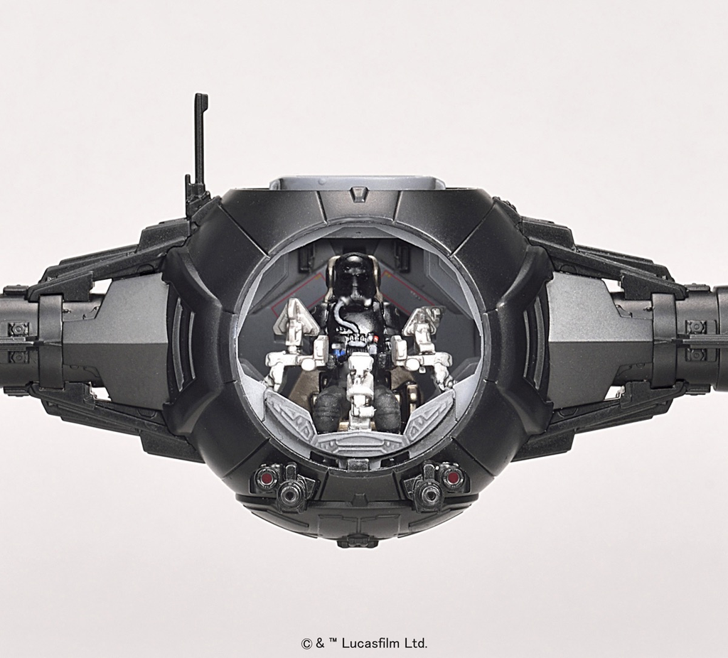 Cars Kit Bandai Star Wars 1/72 The First Order Tie Fighter
