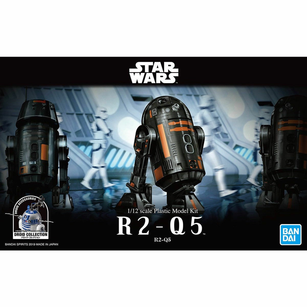 Plastic Kits Bandai Star Wars 1/12 R2-Q5