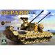 Plastic Kits Takom 1/35 Flakpanzer 1 Gepard Spaag A1/A2