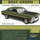 Diecast CLASSIC CARLECTABLES Diecast 1/18 Ford XW Falcon GT-HO Phase 11 Reef Green