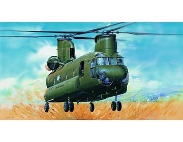 Plastic Kits TRUMPETER 1/35 Scale Helicopter - CH-47D Chinook