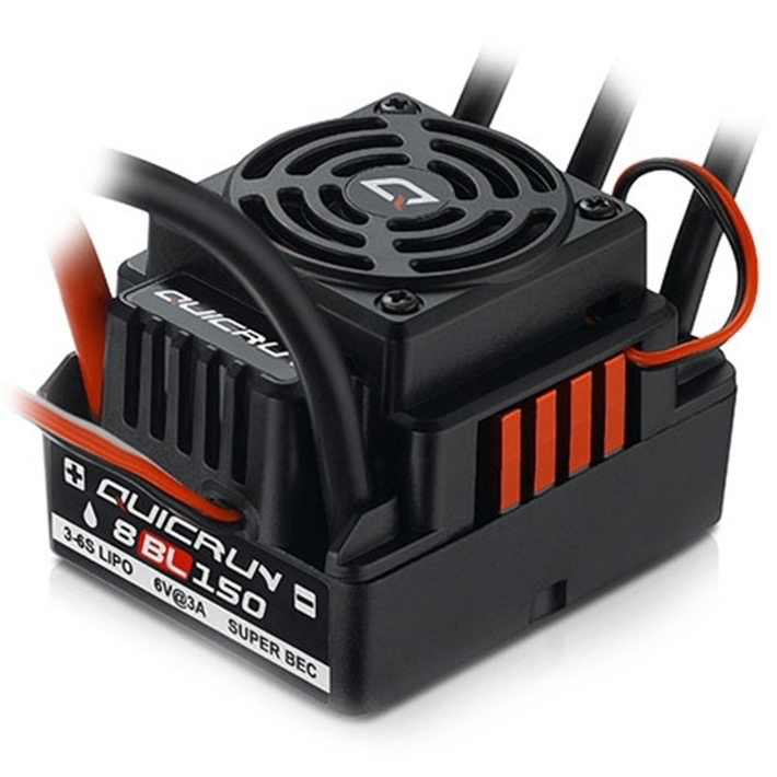 Elect Speed Cont QUICRUN-WP-8BL150 Brushless ESC.
