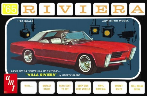 Plastic Kits AMT (f) 1:25 Scale Buick Riviera (George Barris)