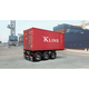 Plastic Kits ITALERI (n) Tecnokar 20' Container Trailer 1:24