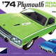 Plastic Kits MPC (f) 1:25 Scale -  1974 Plymouth Road Runner 2T