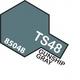 Paint Tamiya Color Spray for Plastics TS-48 Gunship Gray. 100ml Spray Can
