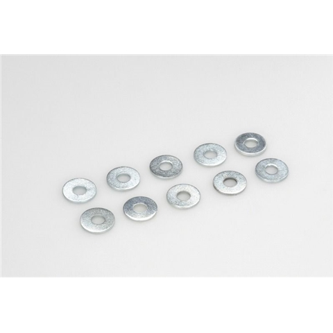 General Gforce Washer, M3, Steel (10pcs)