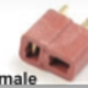 General Gforce Deans Gold Connector,  Female (4Pc)