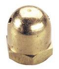 Prop GP Spinner Nut Brass 1/4 28