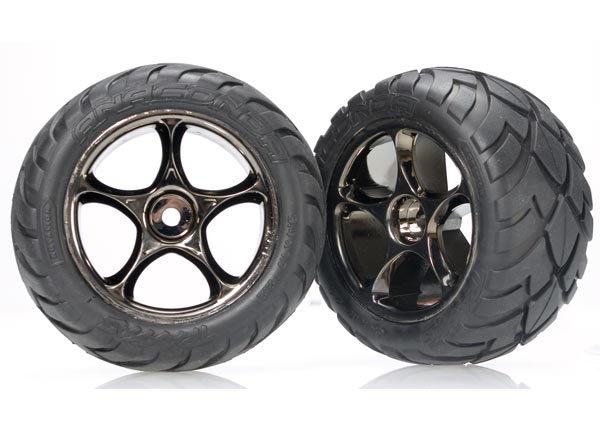 Parts Traxxas Rear Wheels & Tyres suit Bandit