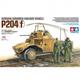 Plastic Kits TAMIYA 1/35 Scale - P204(F) German Armored Railway Vehicle