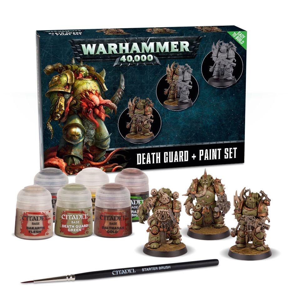 Toys GW Death Guard + Paint Set