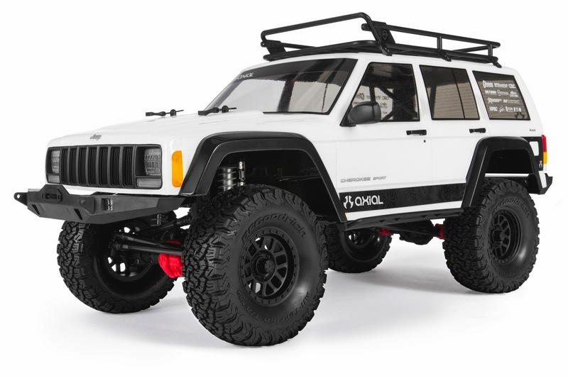 Cars Kit AXIAL SCX10 II™ 2000 Jeep® Cherokee 1/10th Scale Electric 4WD – Kit