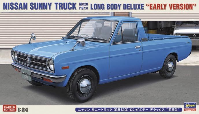 Plastic Kits Hasegawa 1/24 Nissan Sunny Truck (GB120)