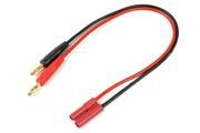 General Gforce Charge lead 4.0mm gold connector, silicon wire 14AWG (1pc)