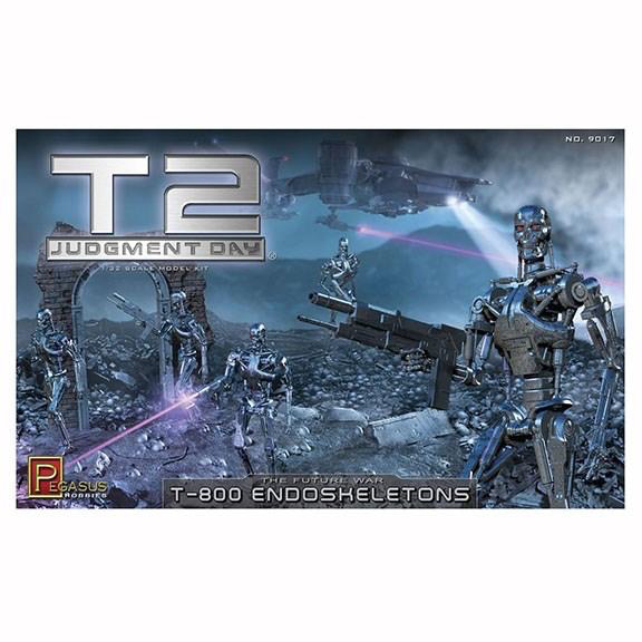 Plastic Kits DDA PEGASUS 1:32 Terminator 2 Judgement Day T-800 Endoskeletons