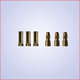 General Gforce 3.5mm Gold Connector, Male + Female (3pairs)