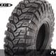 Wheels Axial 1.9 Maxxis Trepador Tires (2) R35