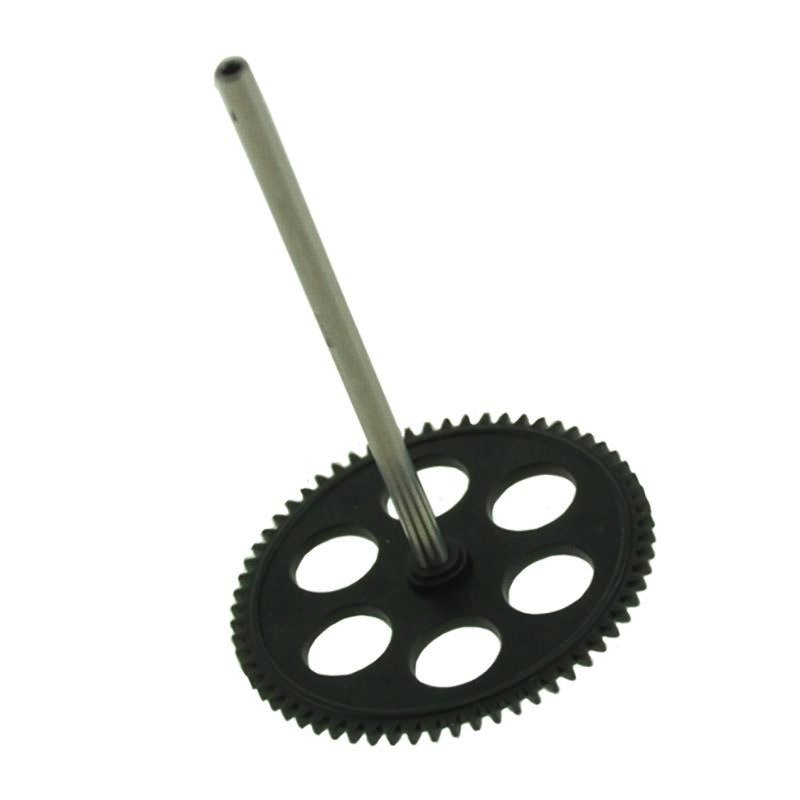 Heli Elect Parts Twister Mini 3D Replacement Main Rotor Gear & Shaft