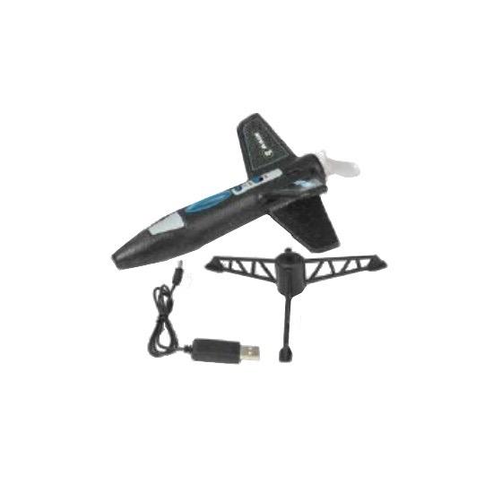 Toys RAGE RC Spinner Missile Electric Free Flight Model Rocket